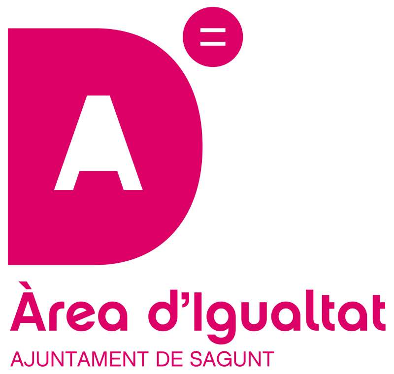 Logo del Área de Igualdad del Ayuntamiento de Sagunt. / EPDA