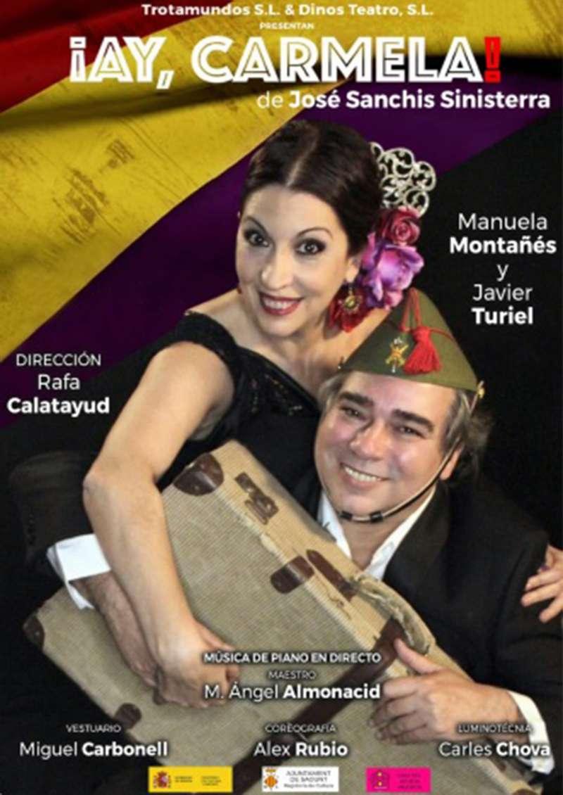 Cartel de ¡Ay Carmela! / EPDA