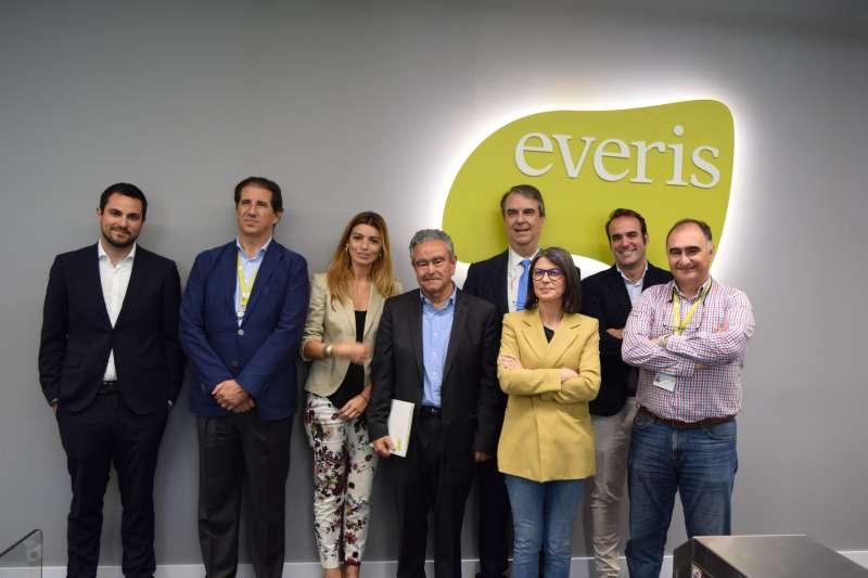 Firma del Convenio entre Torre Juana y Fundación Everis. EPDA
