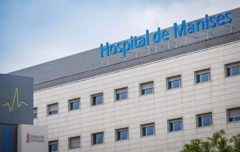 Fachada del Hospital de Manises, en una imagen de la Generalitat.