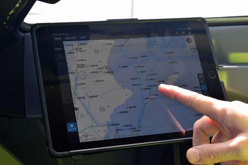 Tecnología incorporada por la compañía Air Nostrum.