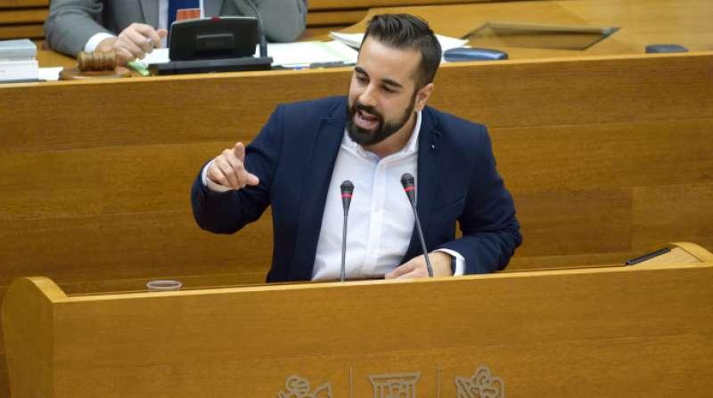 El diputado socialista en Les Corts, Jose Muñoz