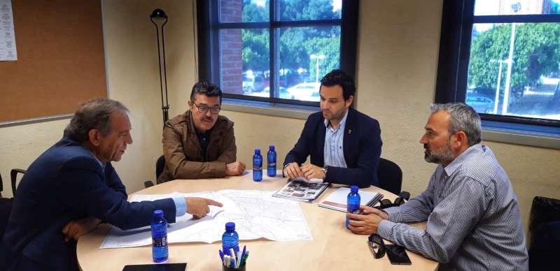 Reunión entre Sagredo y Miguel Soler.