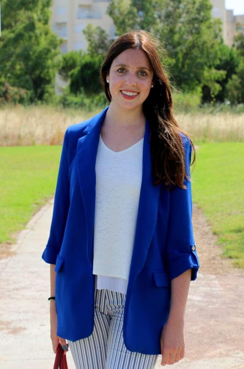 Tania Aguto, portavoz del PP de Torreblanca