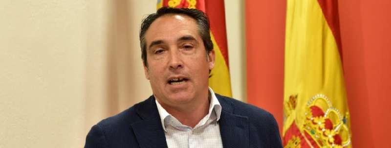 El vicesecretario general del Partido Popular de la Comunitat Valenciana, Rubén Ibáñez. EPDA