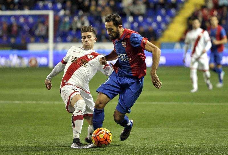 El centrocampista del Levante UD José Luis Morales. EFE/Archivo