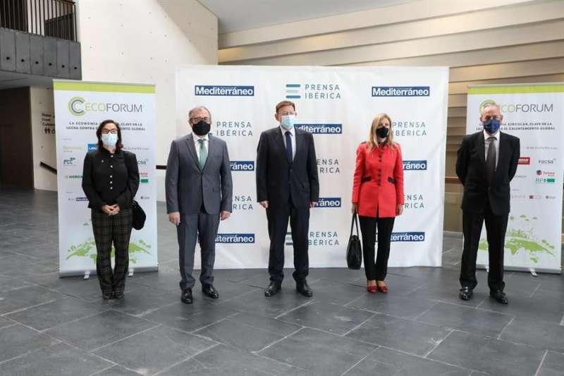 El president Ximo Puig asiste a la inauguración del II #EcoForumEnCastello.