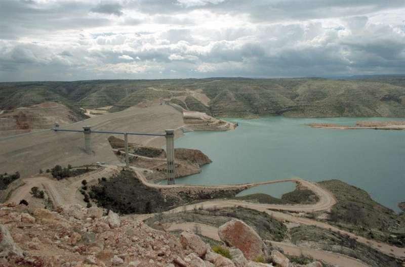 La presa de Tous, en la Ribera del Júcar. EFE/Archivo