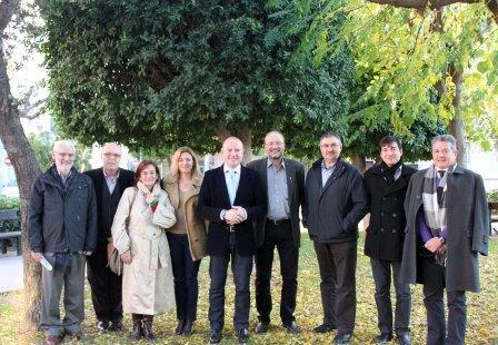 Esta tarde seguirán la ronda de contactos en Alboraia y Albuixech donde Gaspar se reunirá con los alcaldes Miguel Chavarría y José Vicente Andreu. Foto: EPDA.