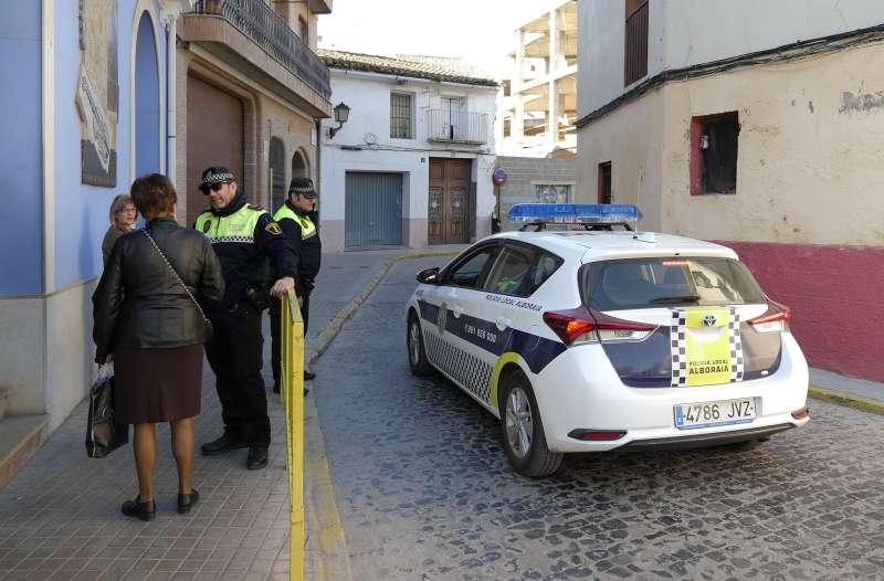Policia Local de Alboraya. EPDA