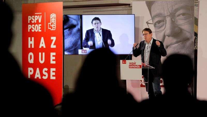 El president de la Generalitat, secretario general del PSPV-PSOE y nuevamente candidato a la presidencia de la Generalitat, Ximo Puig. EFE/Archivo