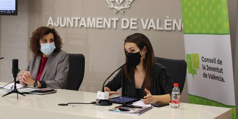 Ana Domínguez, presidenta del Consell de la Joventut de València.