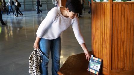 Bookcrossing en Valencia. Foto EPDA