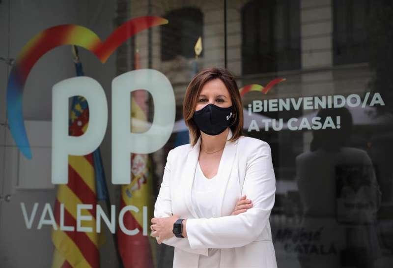 La portavoz del PP en el Ayuntamiento de Val�ncia, Mar�a Jos� Catal�, en una imagen de archivo. EFE/Ana Escobar/Archivo
