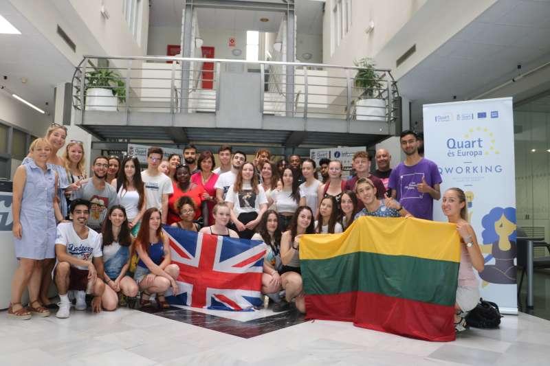Jóvenes del Erasmus+