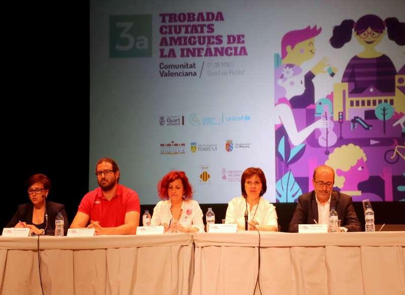 Jornada inaugural del III Encuentro de Ciudades Amigas de la infancia