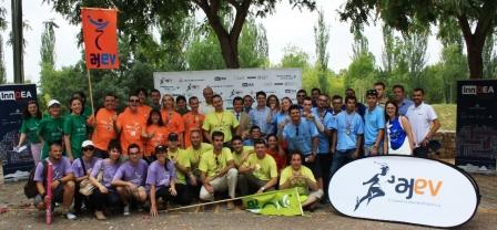 Olimpiadas del Emprendedor en el Parque de Cabecera. Foto EPDA
