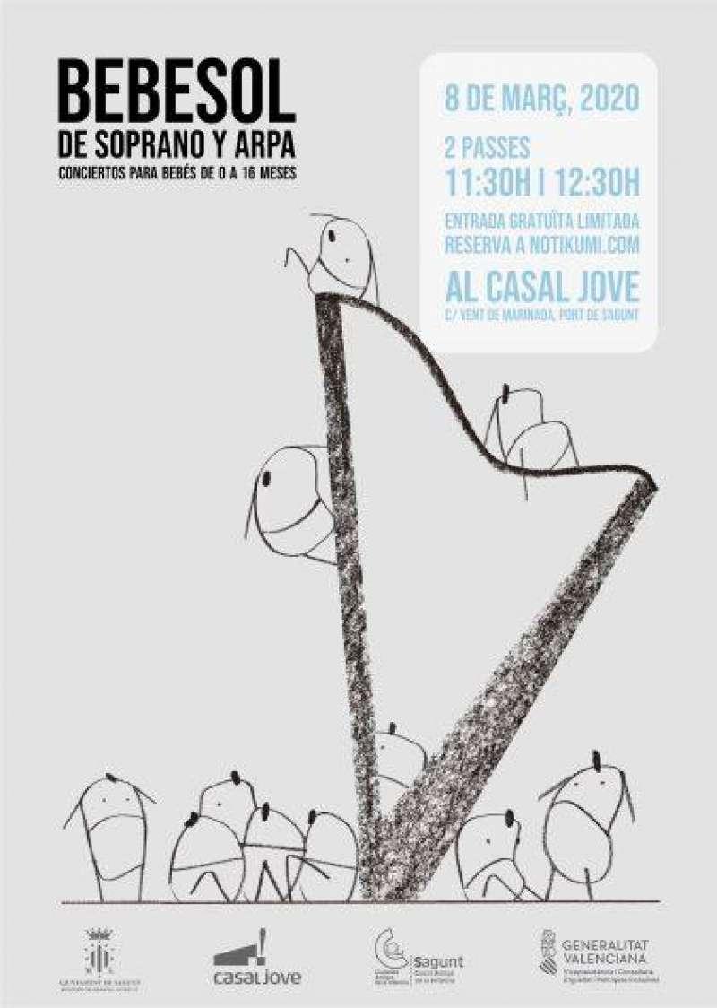 Cartel del concert. EPDA