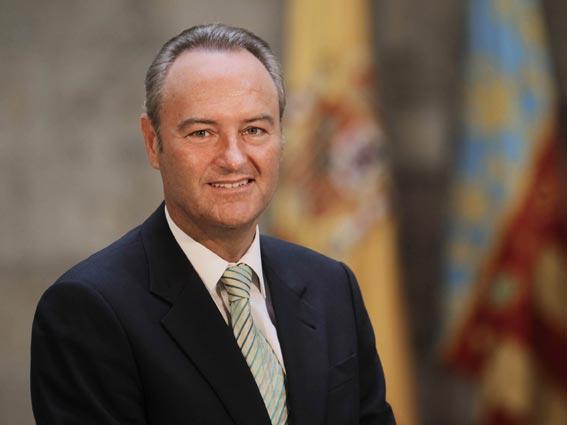 Alberto Fabra, presidente de la Generalitat Valenciana. FOTO GVA