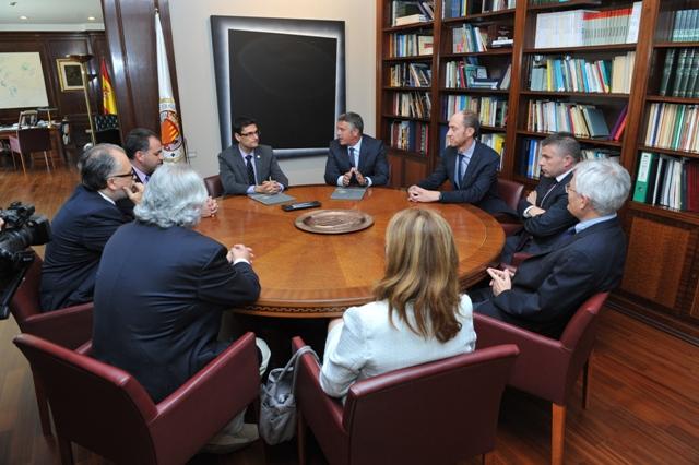 Imagen de la reunión mantenida. FOTO: EPDA