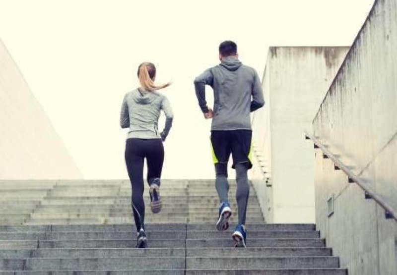 Una pareja haciendo deporte. EPDA