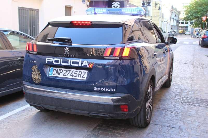 Un coche de Policía. EPDA