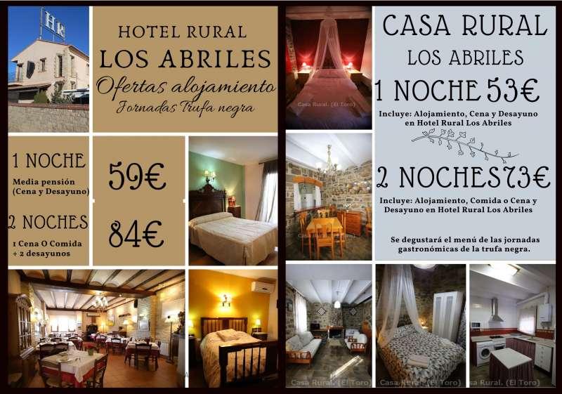 Promoción de habitaciones de el Hotel Los Abriles