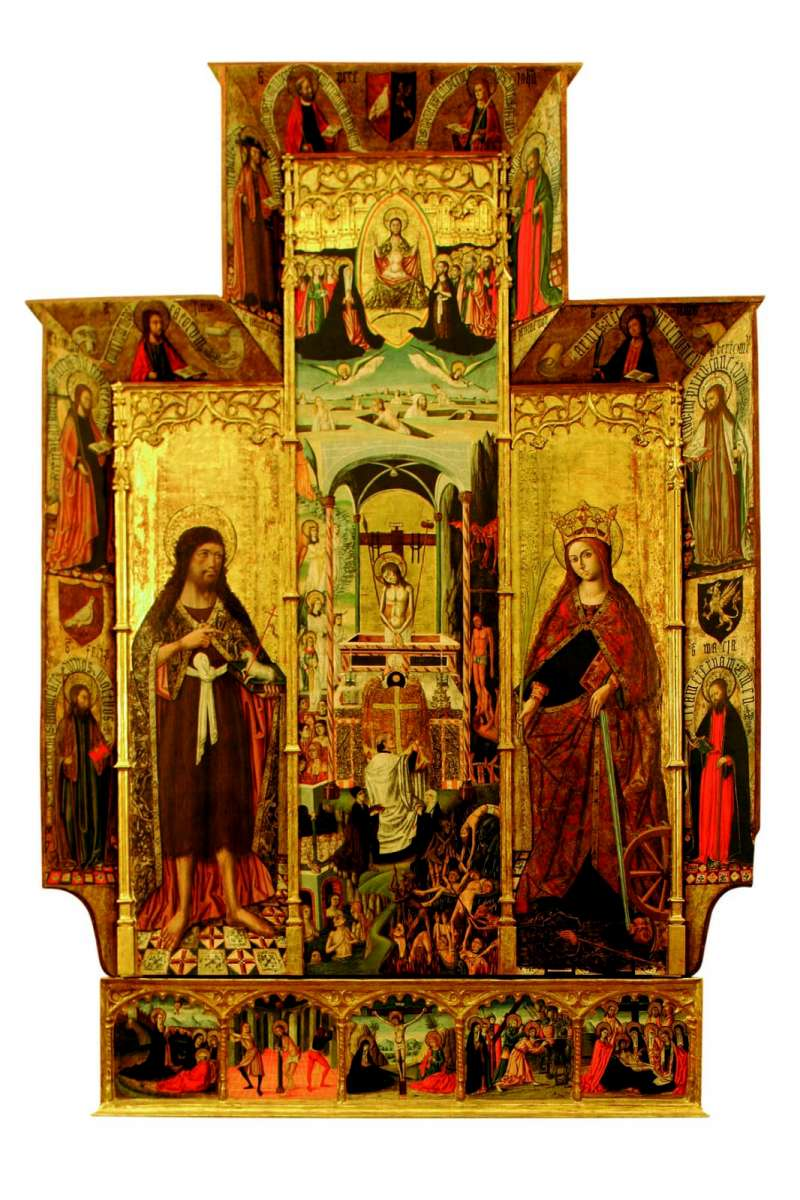 Retablo de Almas y Misa de San Gregorio