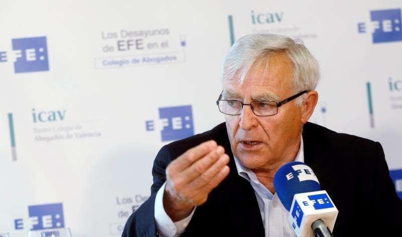 El alcalde de València, Joan Ribó, en una entrevista con la Agencia EFE. EFE/Archivo