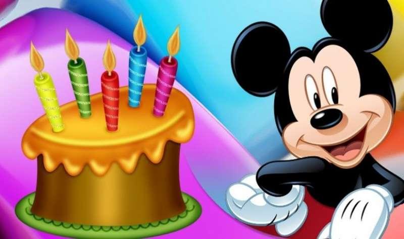 Cumpleaños con Mickey Mouse. EPDA
