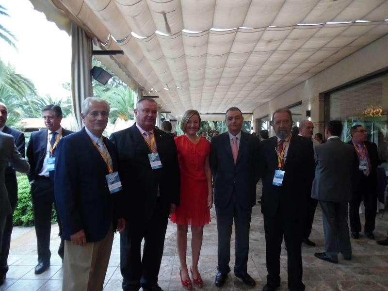Inauguración III Congreso sobre el Transporte Frigorífico organizada por la Asociación Española de Empresarios de Transportes Bajo Temperatura Dirigida que se celebra en El Puig