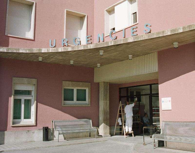 Entrada de urgencias de un hospital. EFE