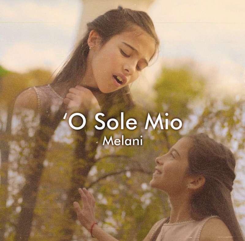 Caratula del nuevo single de Melani
