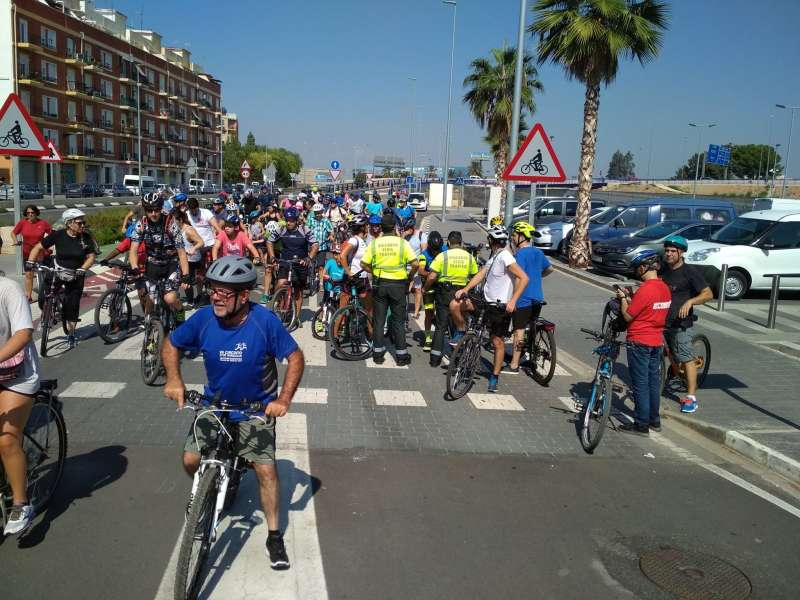 Semana Europea de la Movilidad en Xirivella.