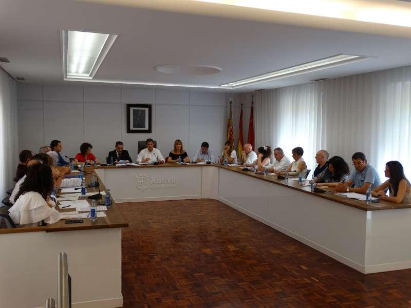 Ple Ajuntament de Xàtiva. EPDA
