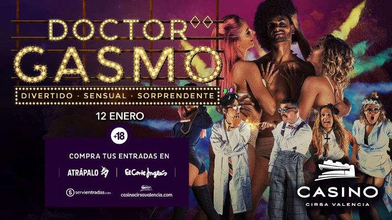 Nueva sesión del Doctor Gasmo en el Casino Cirsa Valencia. EPDA