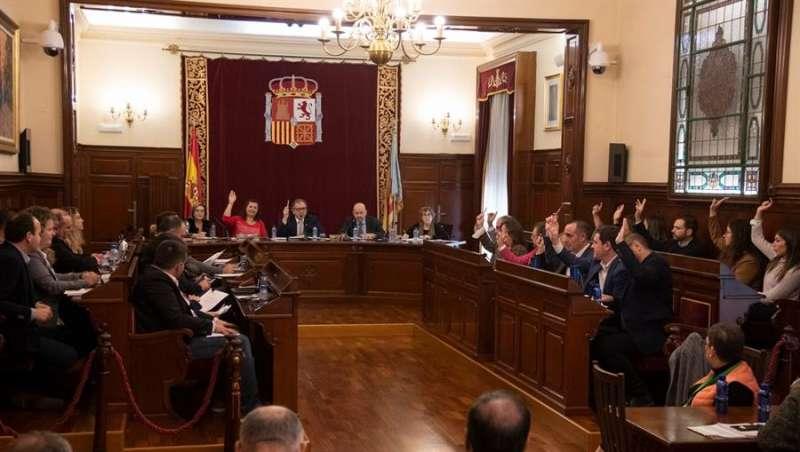 El pleno de la Diputación de Castellón, en una imagen compartida por la corporación provincial.