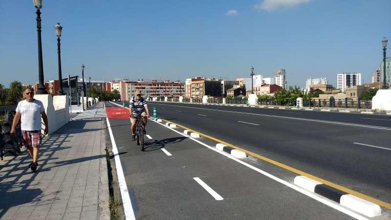 Carril bici Natzaret-Marina. EPDA