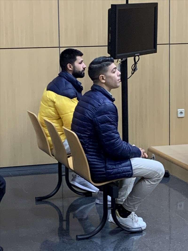 Foto de los acusados. EFE