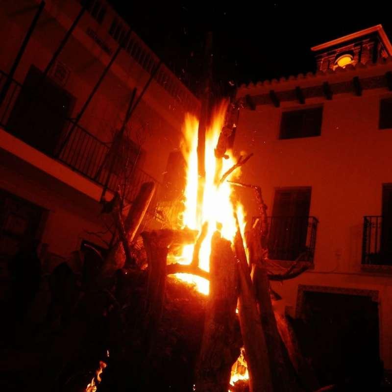 San Antón en Calles. EPDA