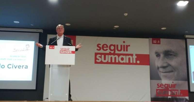Manolo Civera, candidato socialista a la alcaldía./EPDA