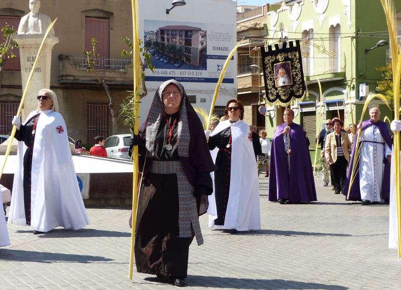 Procesión del Domingo de Ramos en Albal. EPDA
