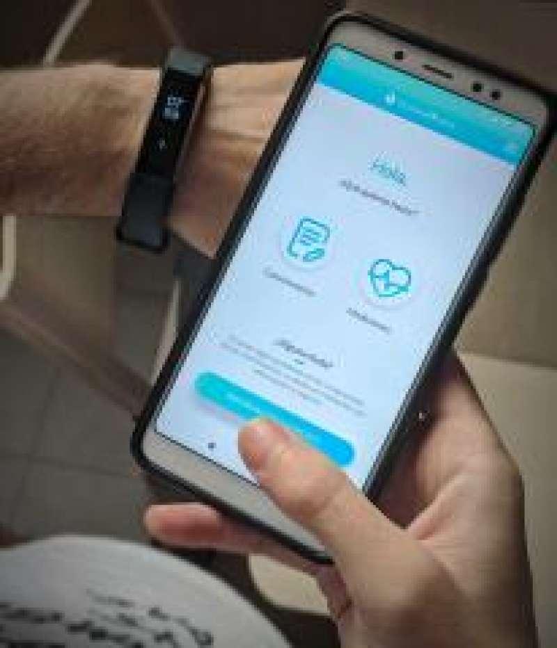 Aplicación móvil HumanItCare./PDA
