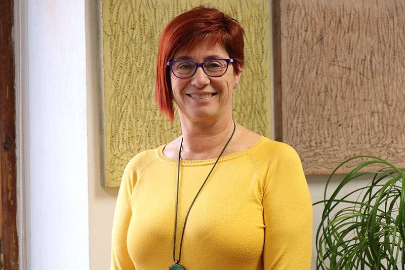 La regidora Asun Moll. EPDA