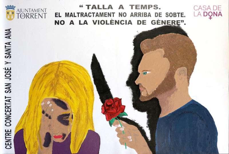 Semana contra la violencia de género en Torrent. EPDA