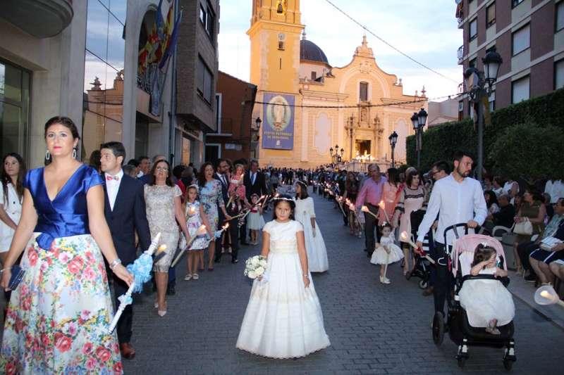 Instante de la procesión