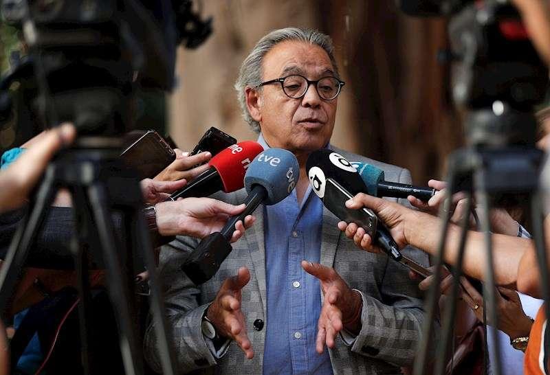 El síndic del PSPV-PSOE en Les Corts, Manolo Mata. EFE/Manuel Bruque/Archivo