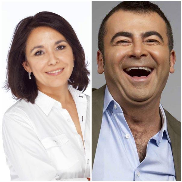 Isabel Gemio y Jorge Javier Vázquez. FOTO ANTENA 3 Y TELECINCO