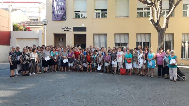Grupo de mayores de Moncada. EPDA
