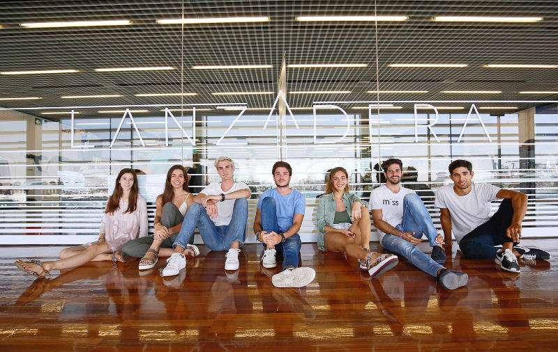 Emprendedores de la segunda edición del Campus de Lanzadera. EPDA